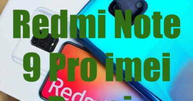 Xiaomi Redmi Note 9 Pro imei Repair