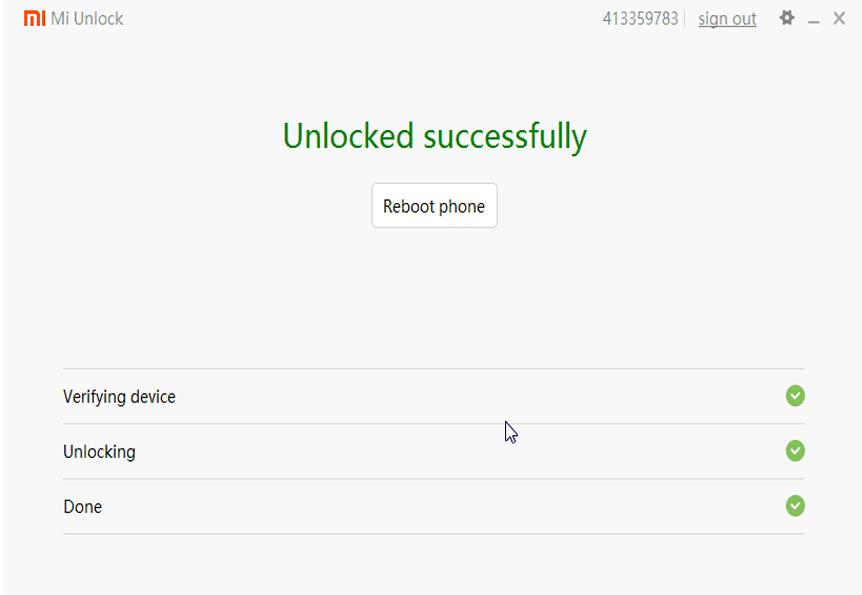 Xiaomi Unlock Tools 3