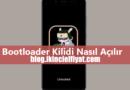 Xiaomi Bootloader Kilidi Açmak